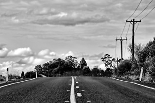 On the road to Menangle.