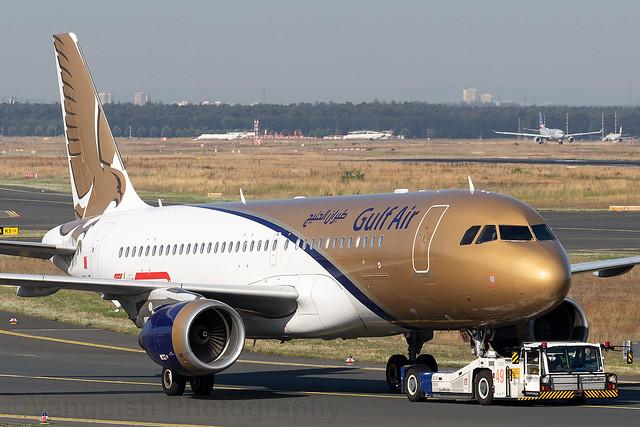 A9C-AP Gulf Air A320-200 Frankfurt Main
