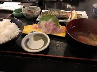 鯖焼き定食