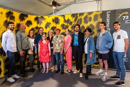 『イサドラの子どもたち』出演者・製作チーム © Locarno Film Festival Ottavia Bosello