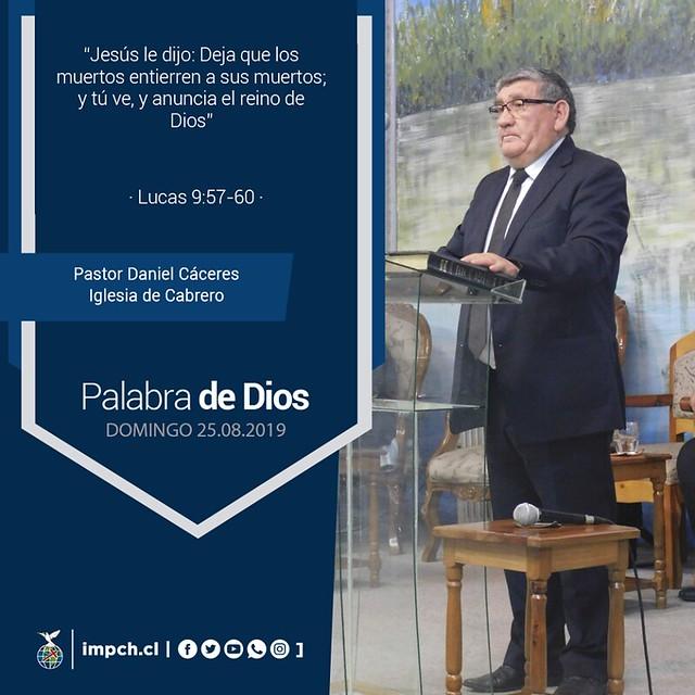 Palabra de Dios | Domingo 15 de Agosto 2019