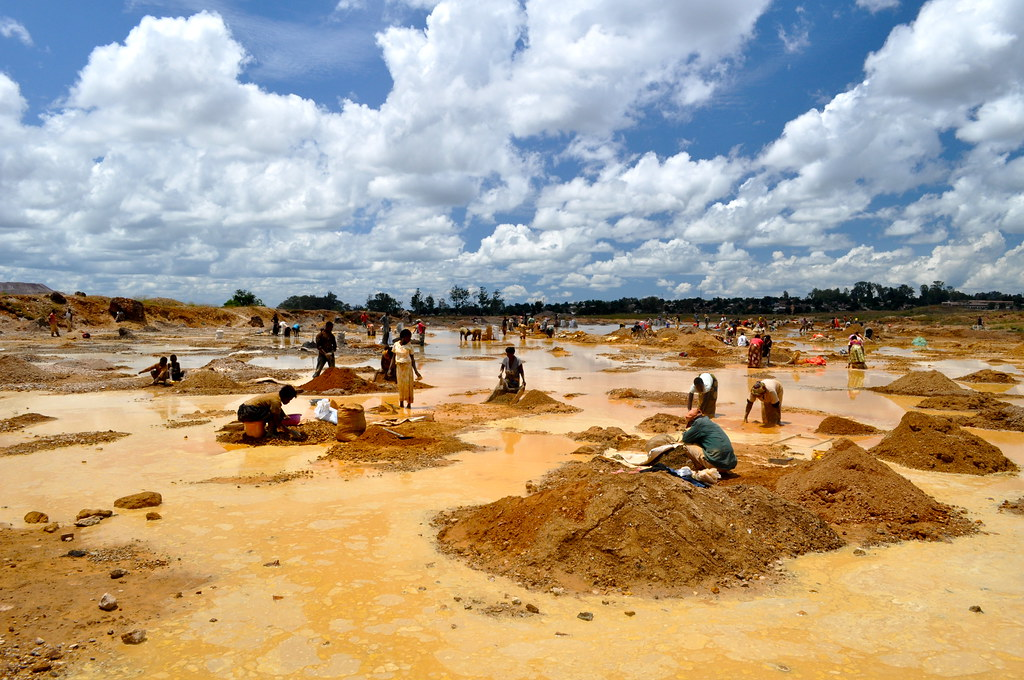 mining in the Congo