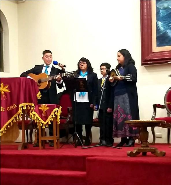 Programa de trabajo del Coro instrumental de Coelemu