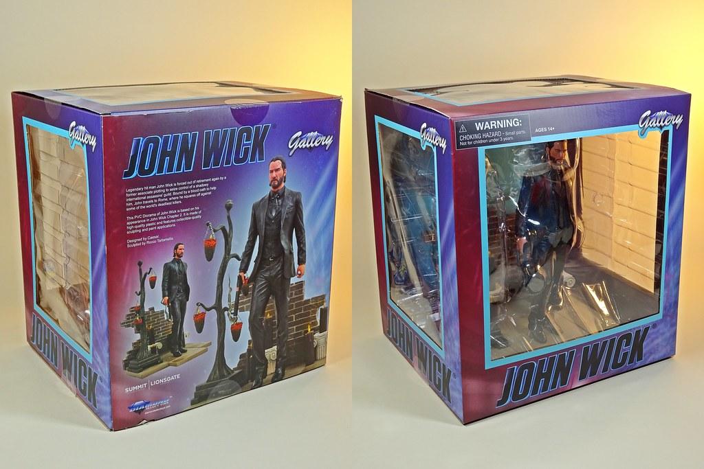 Diamond Select Gallery Series John Wick 2 Box Art Fr Flickr