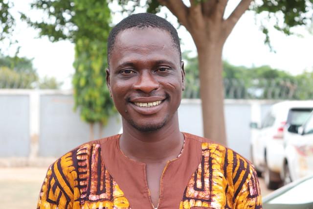 Adam Inusah, one of the farmers working with Africa RISING in Chehoyi No.2 Community in Northern Region, Ghana. Photo credit: Wilhelmina Ofori-Duah-Duah/IITA.
