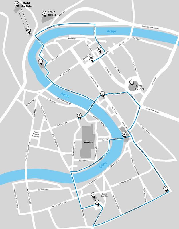 Fietsen in Verona: gratis fietsroute door Verona | Mooistestedentrips.nl