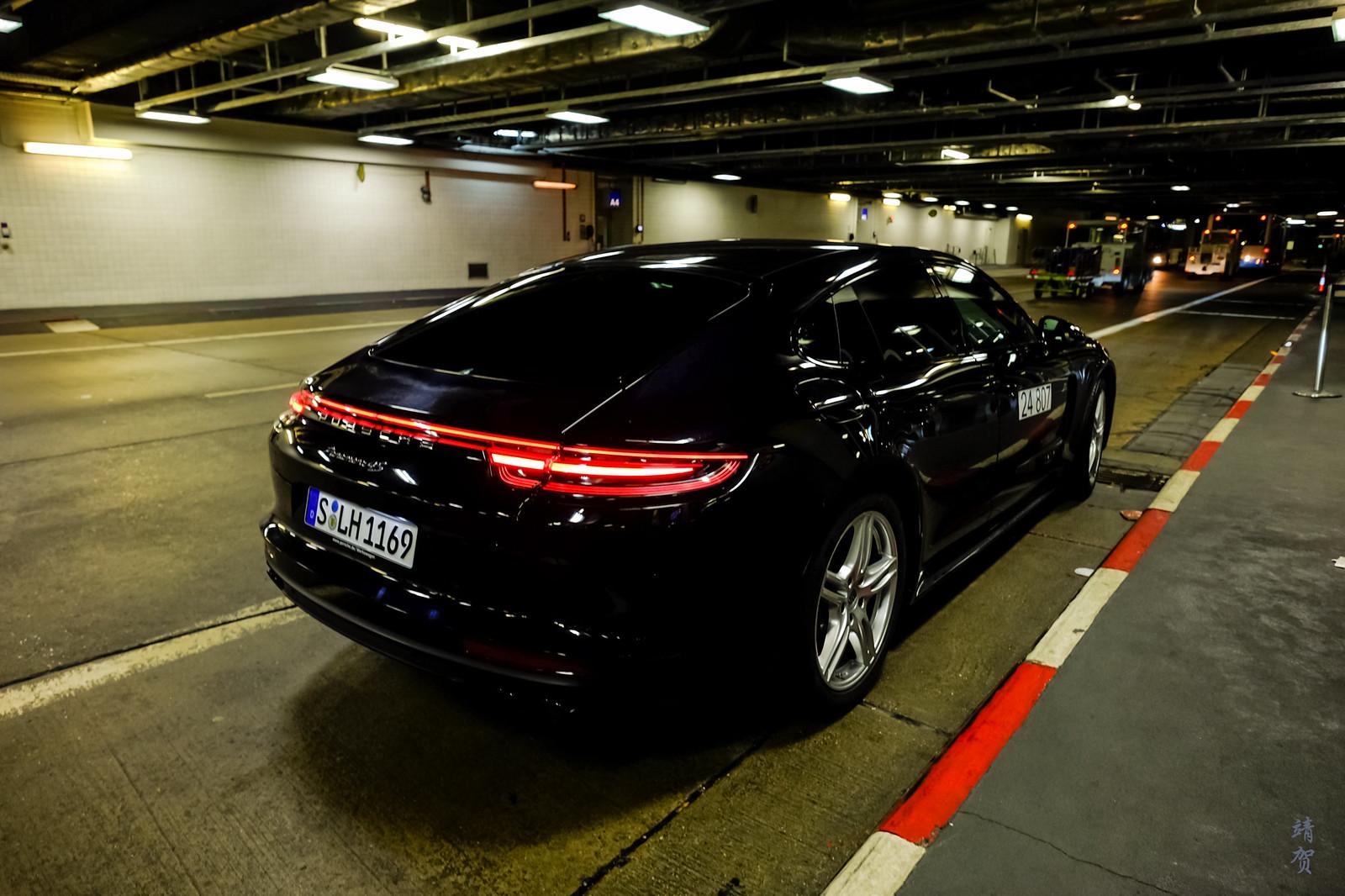 Porsche Panamera chauffeur service