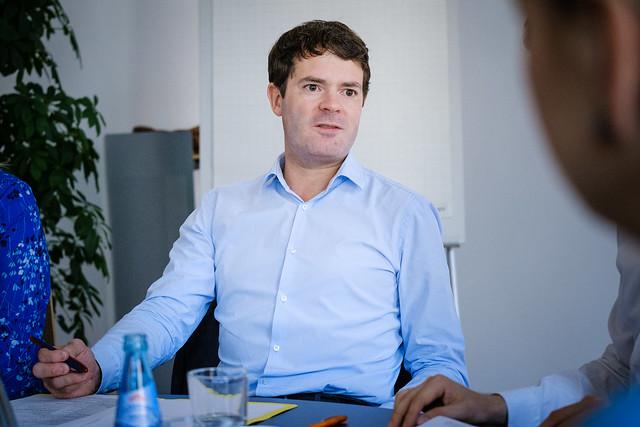 DGFP // Hauptstadtdialog mit Staatssekretär Björn Böhning (BMAS)