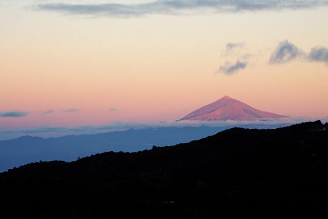 Mount Teide, Sunrise, La Gomera