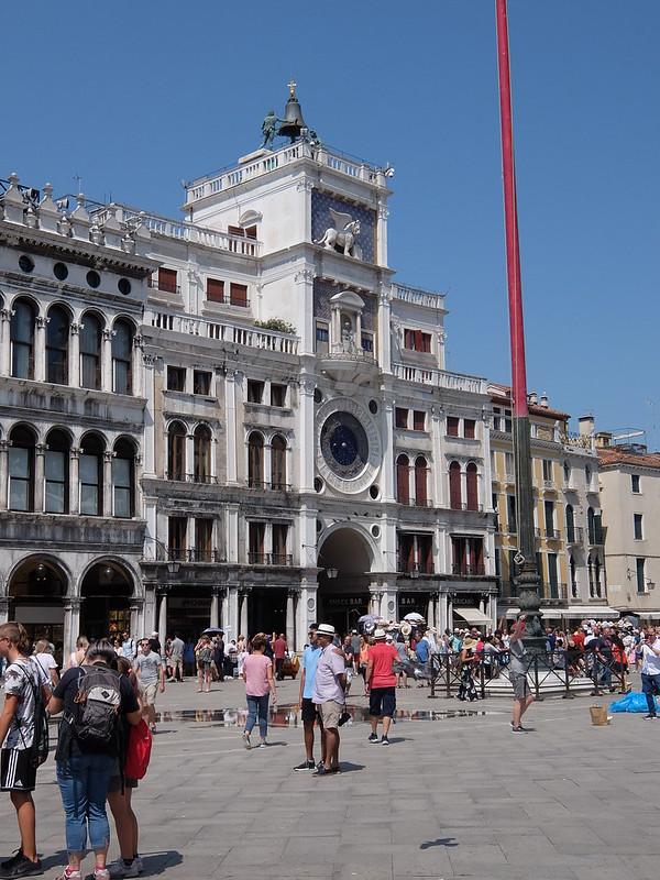 Венеция - Правое крыло дворца дожей
