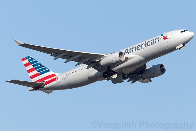 N279AY American Airlines A330-200 Frankfurt Main