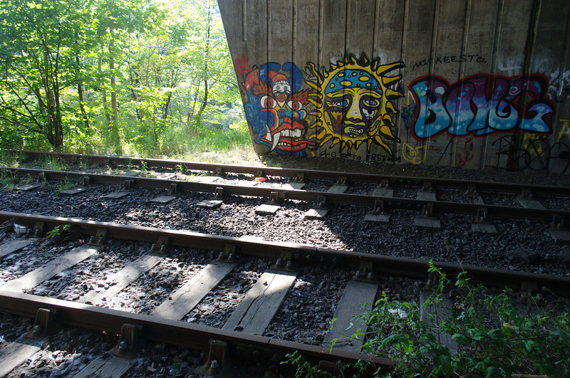 Tracks and graffiti
