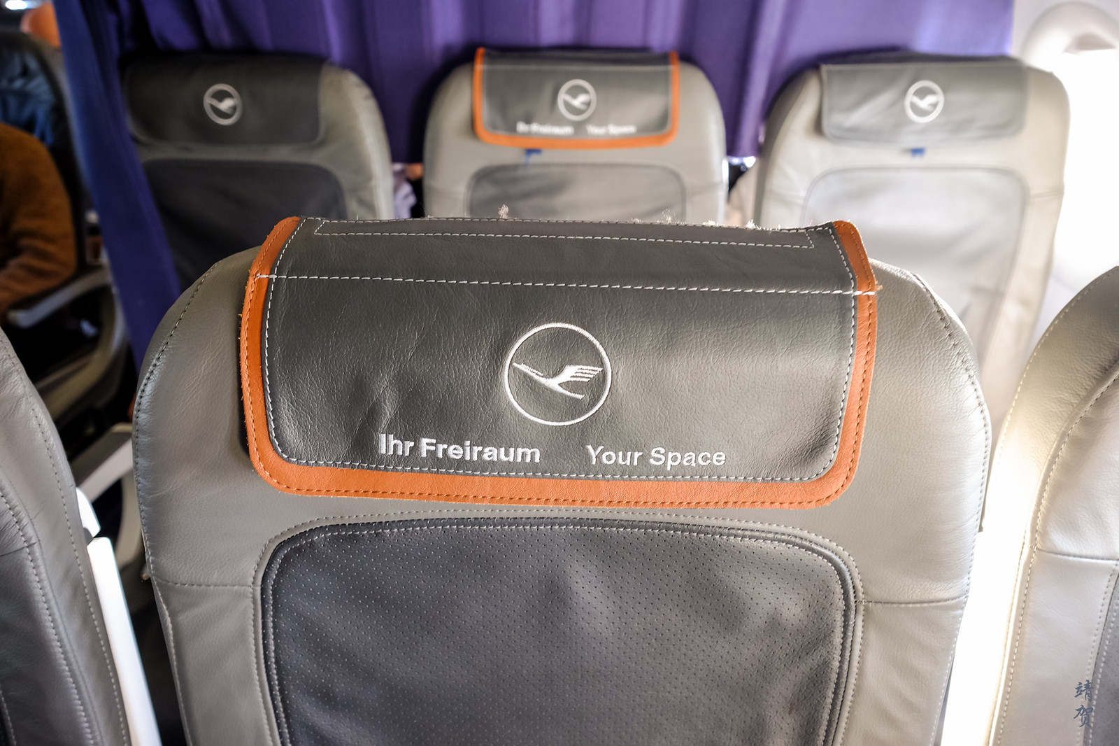 Seats onboard Lufthansa A320