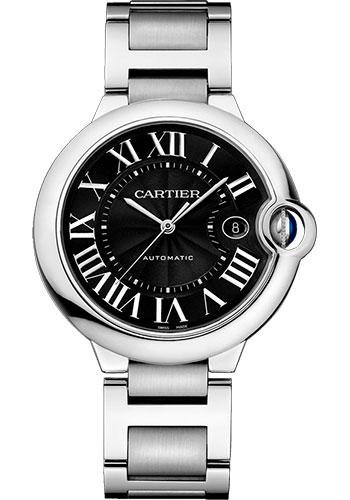CARTIER-Ballon Bleu De Cartier Black Dial Stainless Steel Watch -W6920042