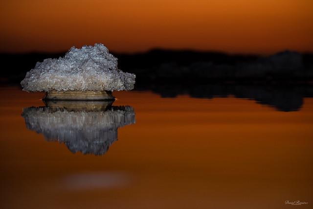 Salt details (Salinas de torrevieja)