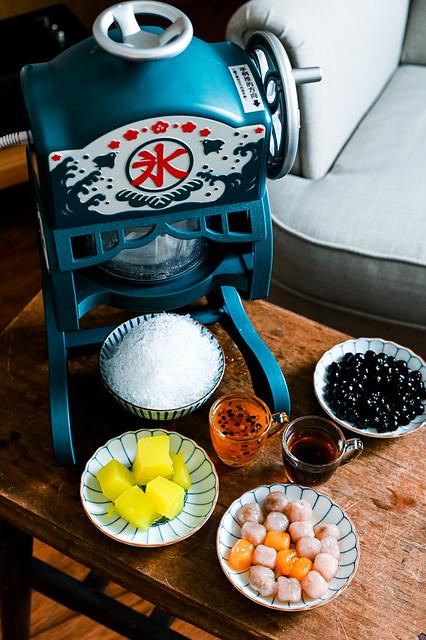|家電分享|【日本DOSHISHA 】復古款電動刨冰機/在家也能自製剉冰