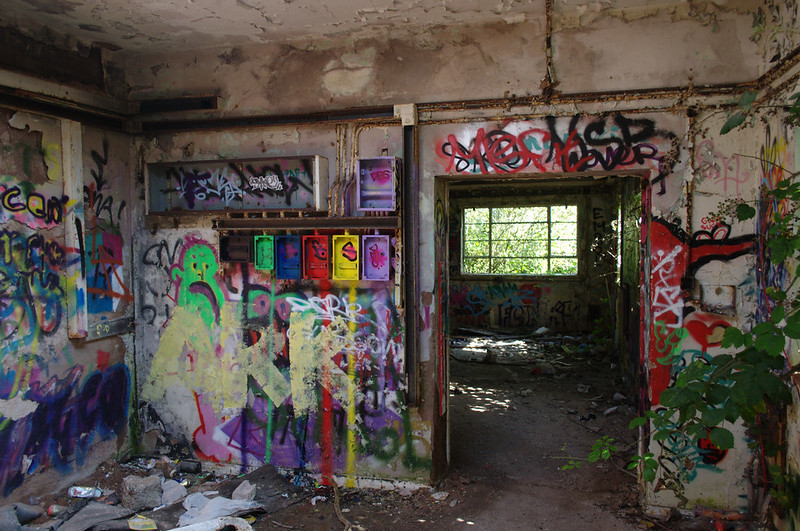 Abandoned RAF meteorological station