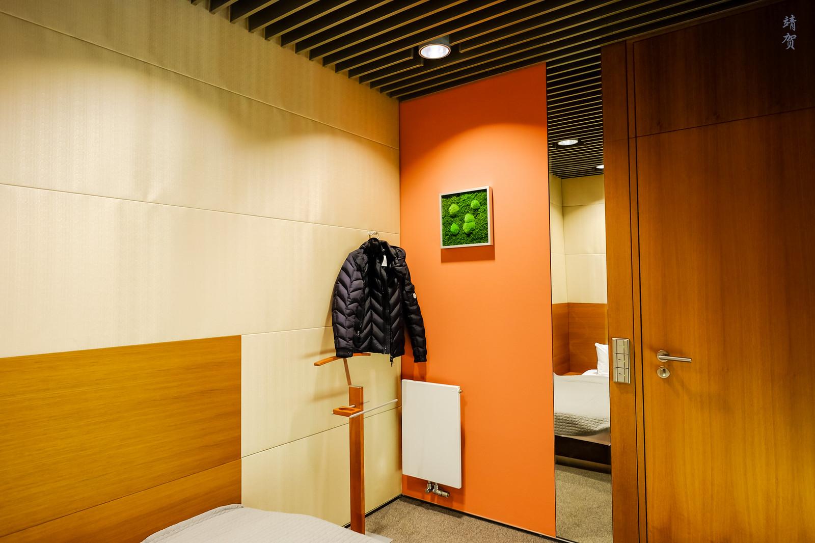Coat hanger in the nap room