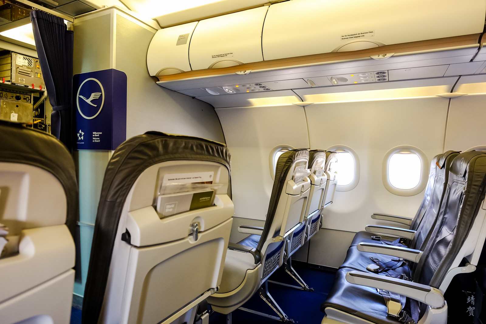 Intra-Europe Business cabin