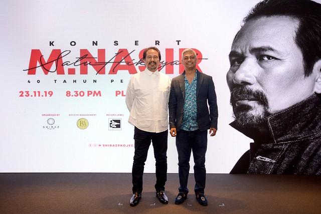 Konsert M. Nasir Satu Hikayat - 40 Tahun Perjalanan