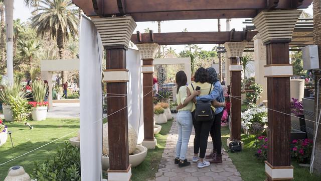Inside Egypt's Flowers Fair 2019