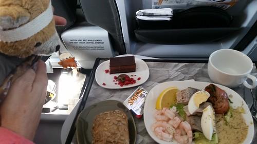 Lunch on Icelandair