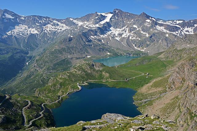 Lago Serrù e Lago Agnel... Colle del Nivolet