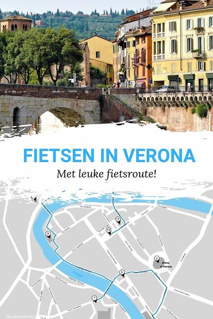 Fietsen in Verona: met leuke fietsroute door Verona | Mooistestedentrips.nl