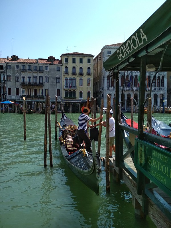 Венеция - Гондольер