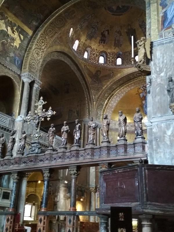 Венеция - Внутри собора Святого Марка