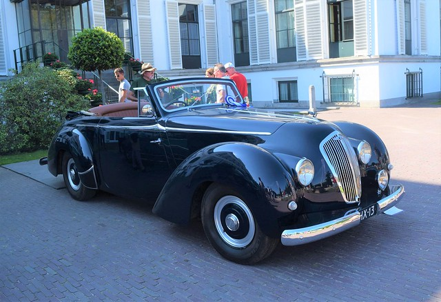 Bentley Mark VI Drophead Coupe by Chr. Roos 1948