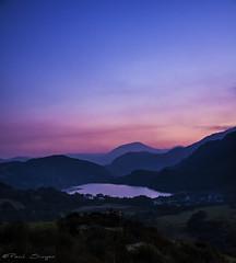 Nant Gwynant Sunset