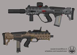 """Stingray"" Multi-Caliber Rifle"