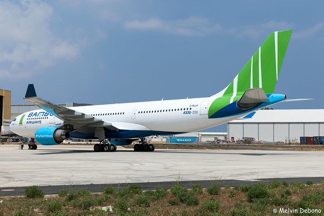 Bamboo Airways Airbus A330-223  |  2-RLAY  |  LMML