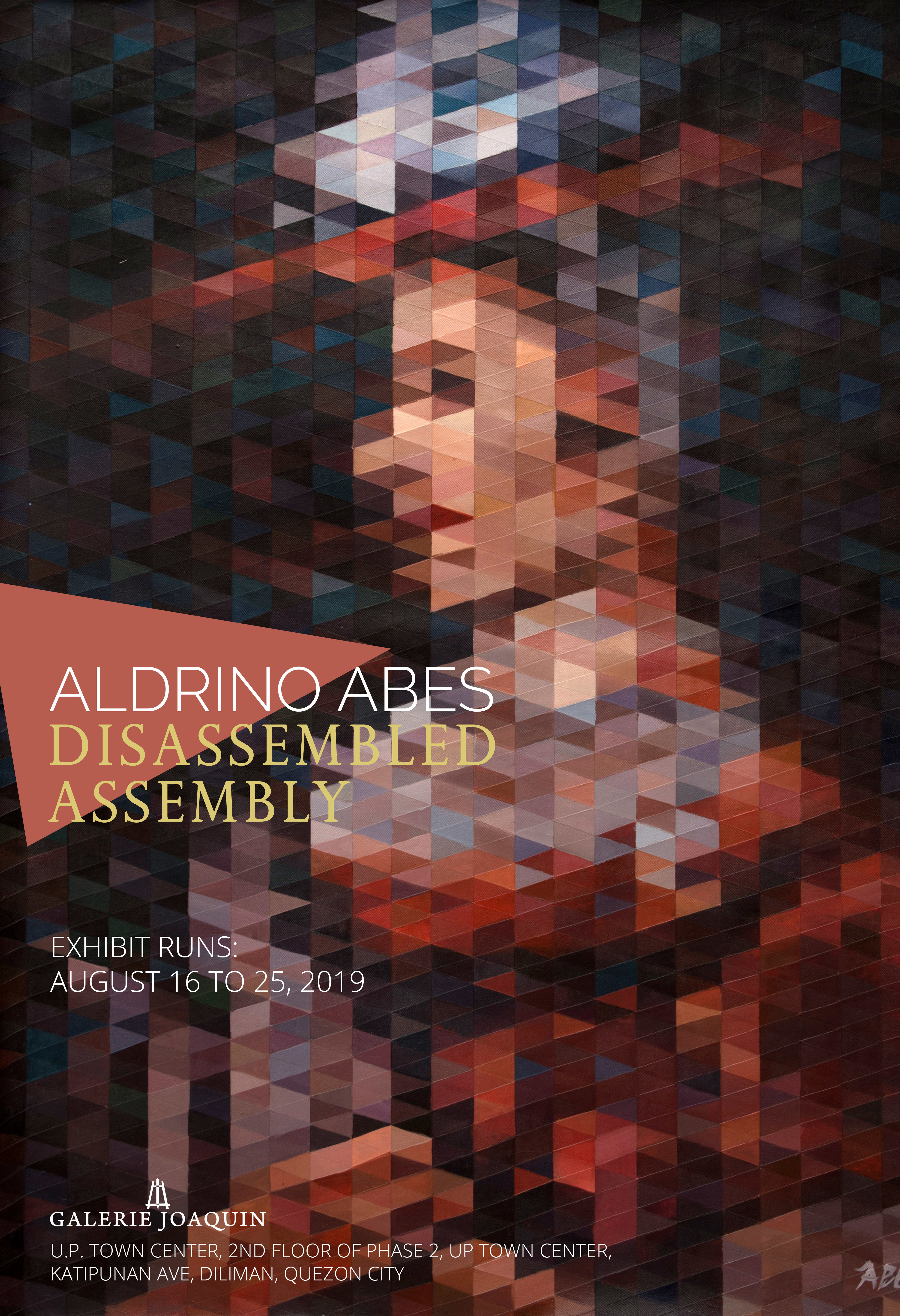 """""""DISASSEMBLED ASSEMBLY"""" BY ALDRINO ABES AT GALERIE JOAQUIN U.P. TOWN CENTER"""