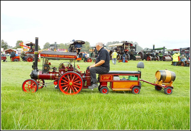 Miniature Traction Engine ..