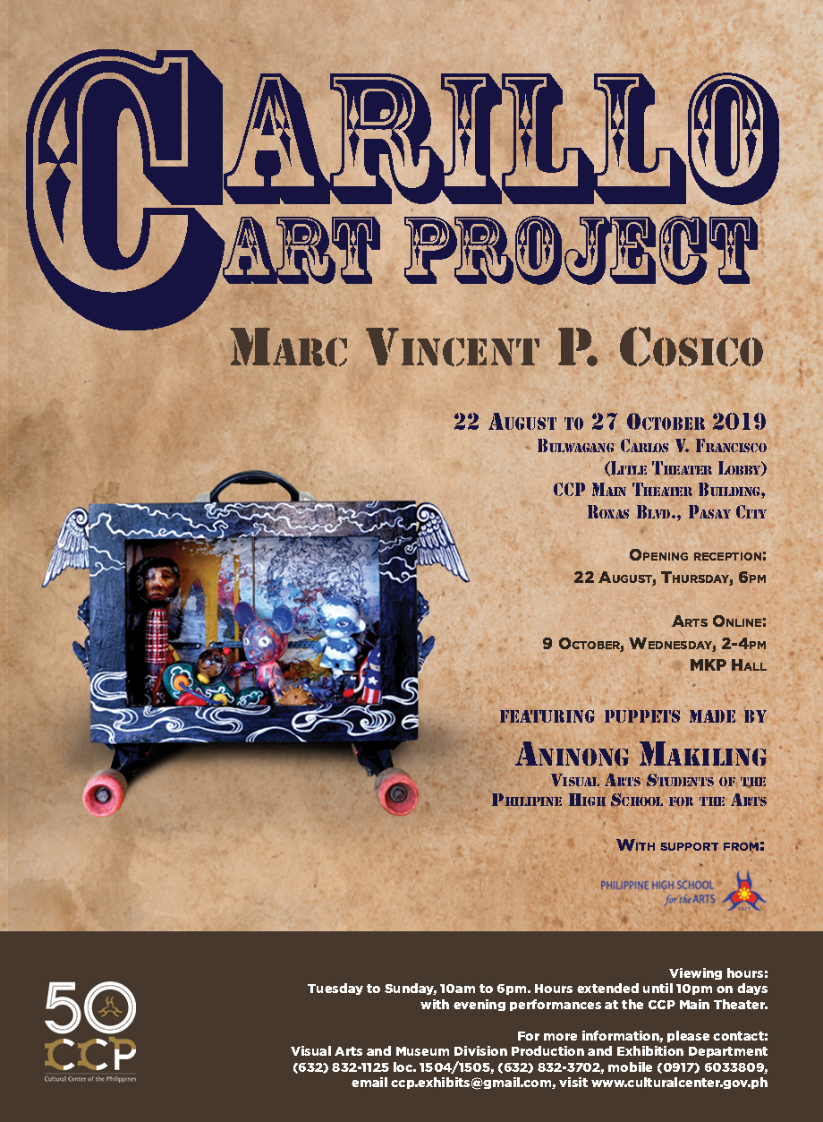 """""""CARILLO CART PROJECT"""" BY MARC VINCENT COSICO"""