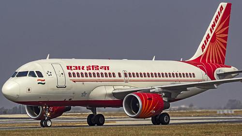 Air India Airbus A319 VT-SCX Bangalore (BLR/VOBL)