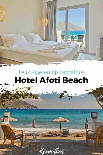 Hotel Afoti Beach | Leuk hotel op Karpathos, Griekenland