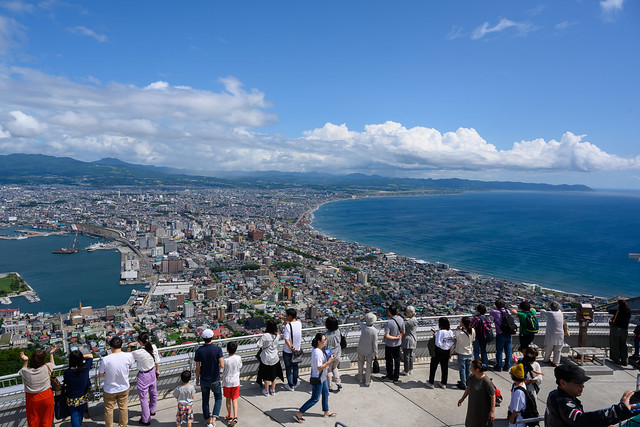 From Mt. Hakodate