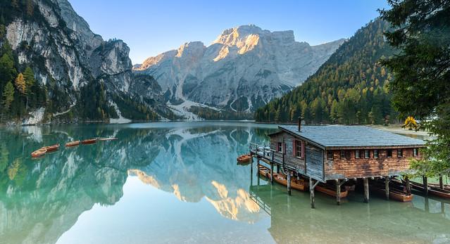 Lago Di Braies, Dolomites Italy
