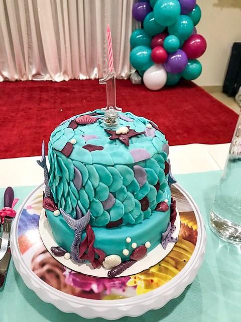 Ocean Inspired Cake by Teena Saji