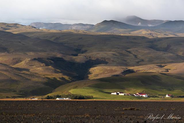 Sólheimasandi landscape