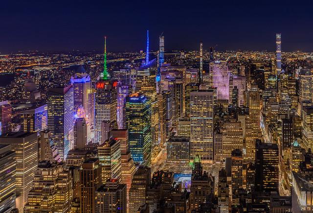 Midnight in New York