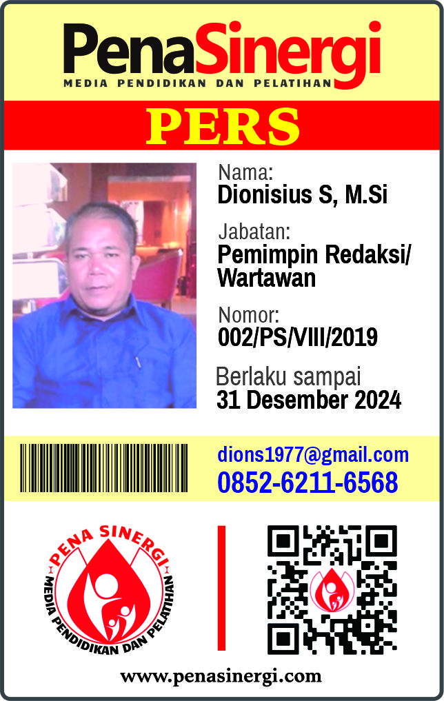 Dionisius Sihombing, M.Si
