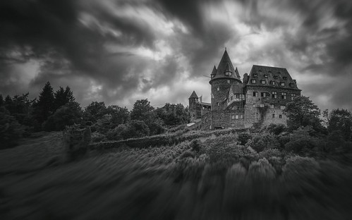 burgstahleck burg stahleck bacharach germany castle parchmankid sony a6500 monochrome black white bw jerry burchfield landscape ilce6500