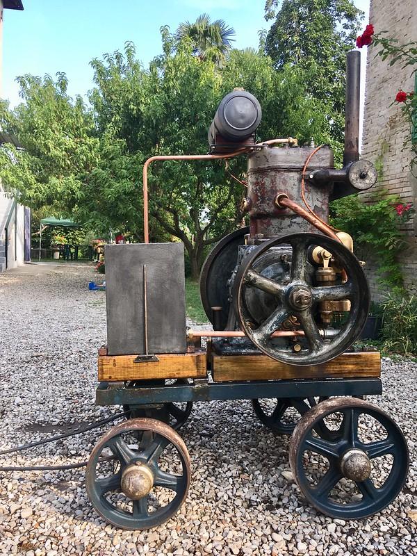 restauration - Restauration moteur ORESTE LUCIANI HP 6/8 48631338981_3737e89e6e_c