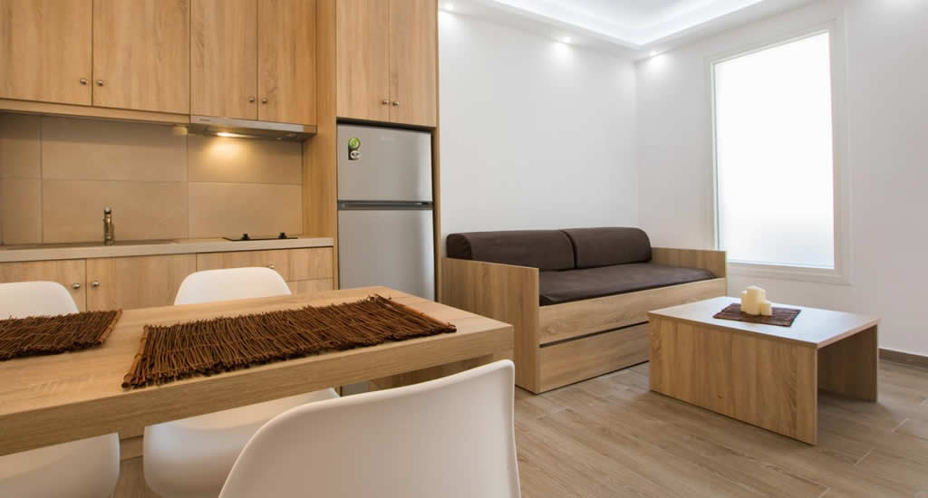 Appartementen Three Stars | Leuk hotel op Karpathos, Griekenland
