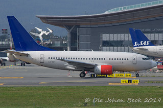 "Boeing 737-683 LN-RRY started its final flight today: ""Goodbye chaps, Im getting retired"" 