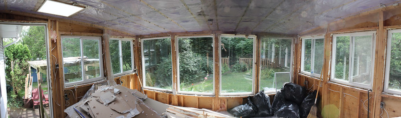 Sunroom Reno Day 1 (10-shot Pano interior)